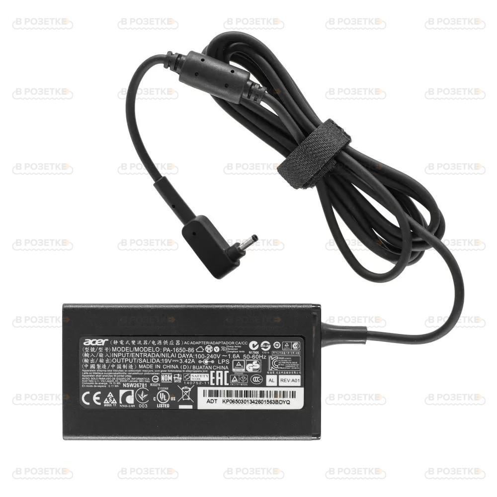 Блок питания для ноутбука Acer 19V 3.42A 65W (3.0x1.1)