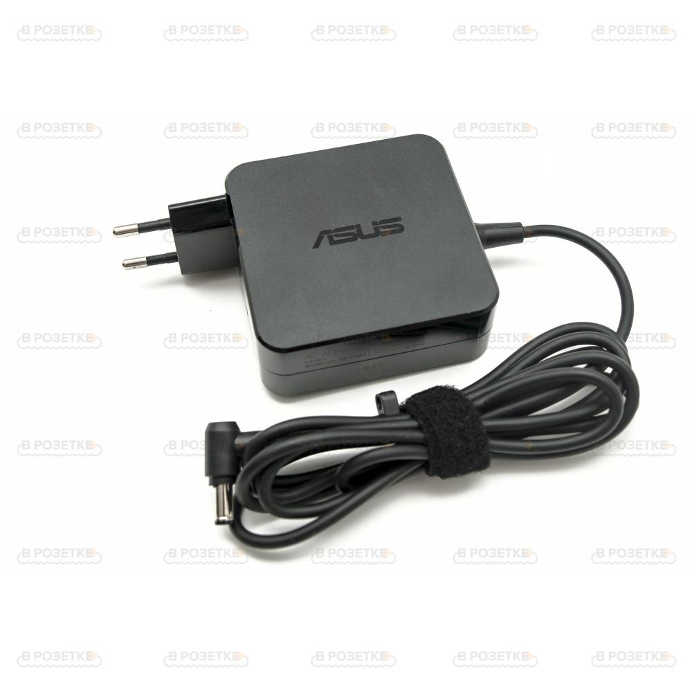Блок питания для ноутбука Asus 19V 3.42A 65W (5.5x2.5) (квадратный)