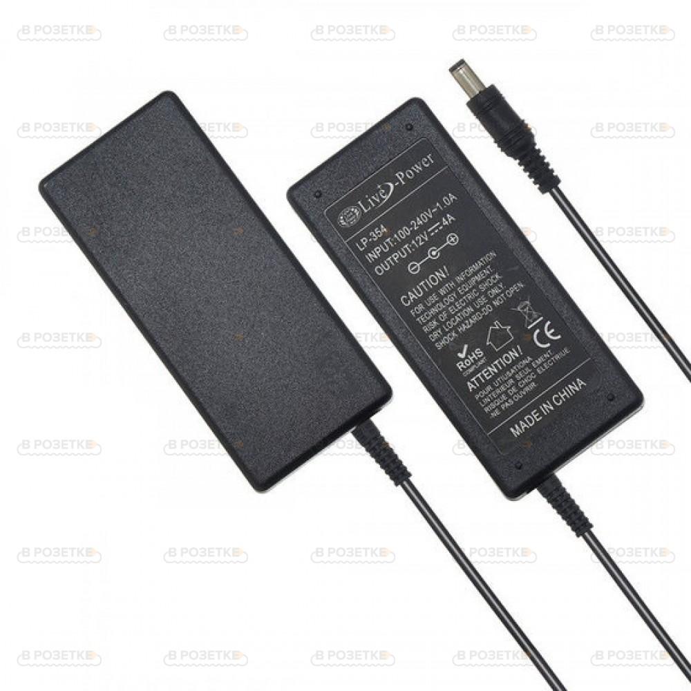 Адаптер блок питания для монитора Samsung 12V 4A 48W (5.5x3.0)