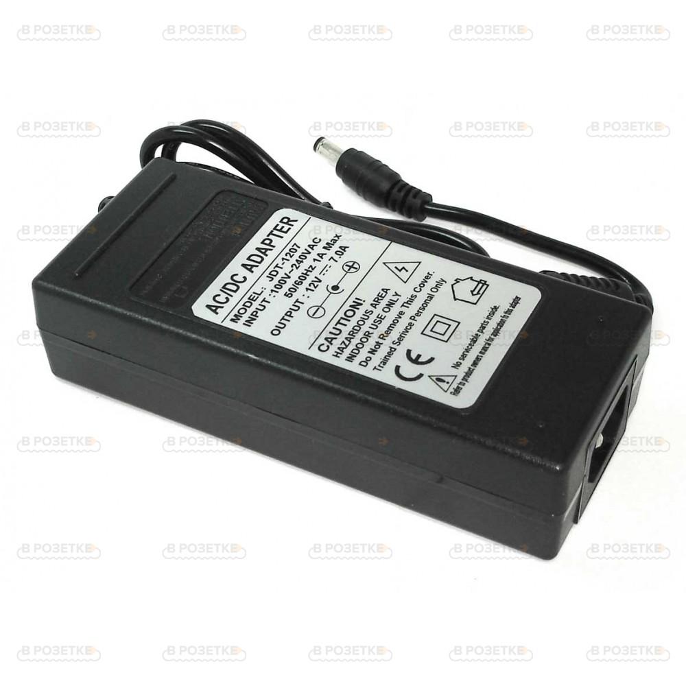 Адаптер блок питания для монитора 12V 7A 84W (5.5x2.5)