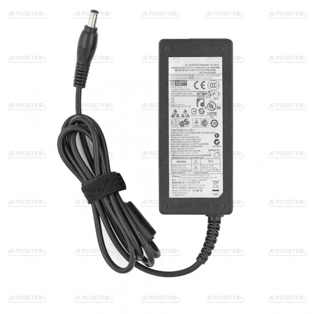 Зарядное устройство для ноутбука Samsung 19V 3.16A 60W (5.5x3.0)
