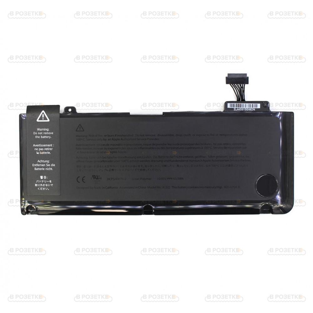 Аккумулятор A1322 для ноутбука Apple MacBook Pro A1278 (5800mAh)
