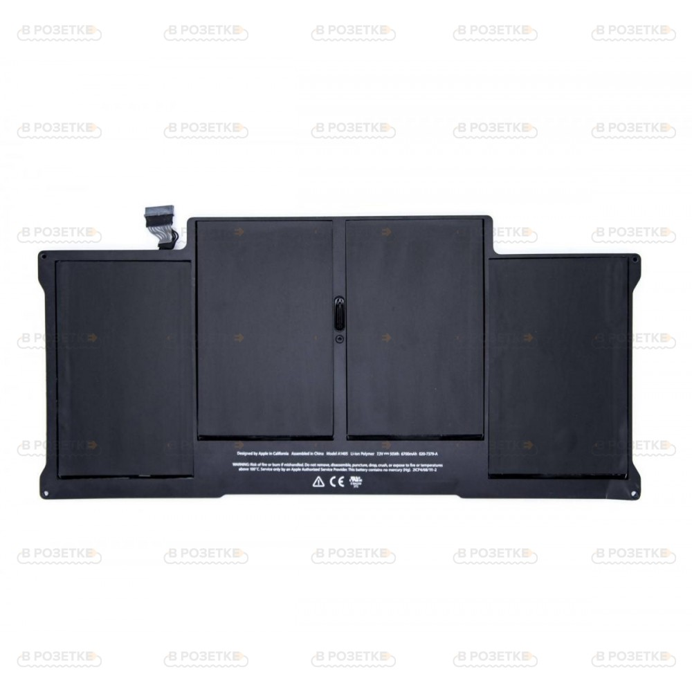 "Аккумулятор A1405 для MacBook Air 13"" A1466, A1369 (2011-2012 г.)"