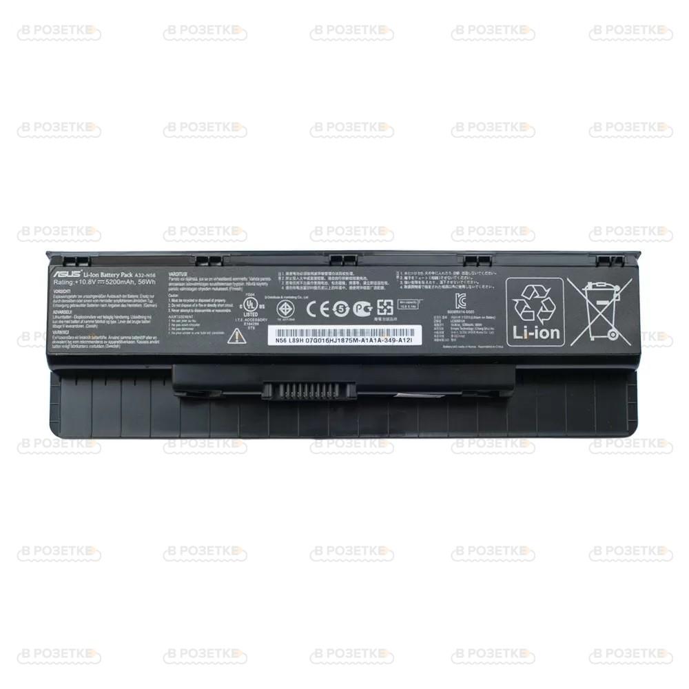 Аккумулятор для ноутбука Asus N76V (5200mah)