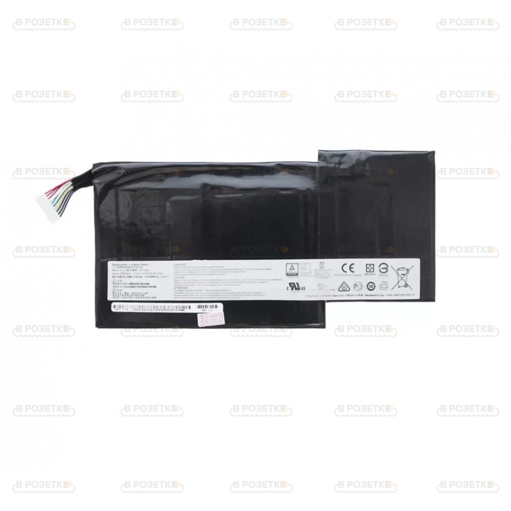 Аккумулятор для ноутбука MSI GS63 / GS73 модель BTY-M6J (11.4v / 64.98Wh / 5700mAh)