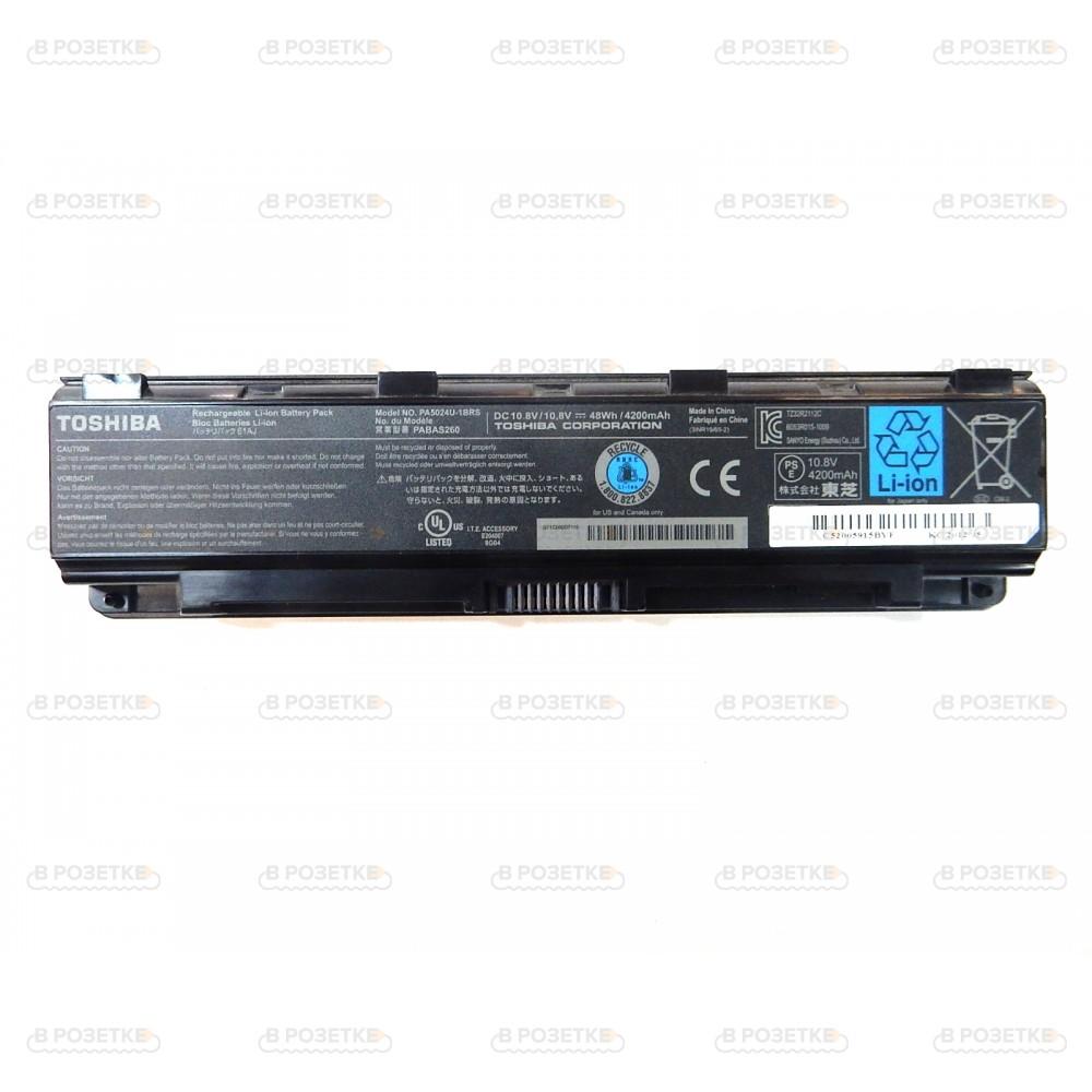 Аккумулятор для ноутбука Toshiba модель PA5024U-1BRS (10.8v / 48Wh / 4200mAh)