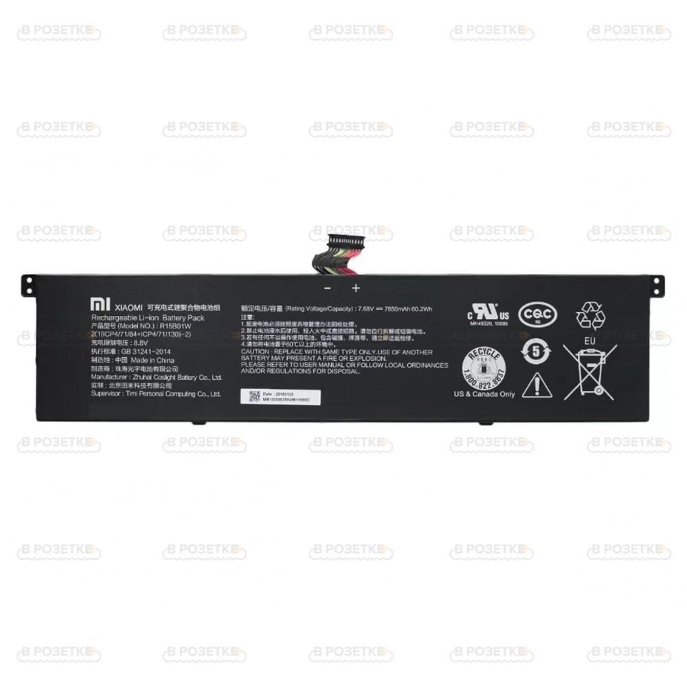 Аккумуляторная батарея для ноутбука Xiaomi Air 15.6 (R15B01W), 7850mAh, 7.68V
